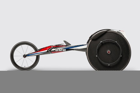 Built for speed: The BMW racing wheelchair 2