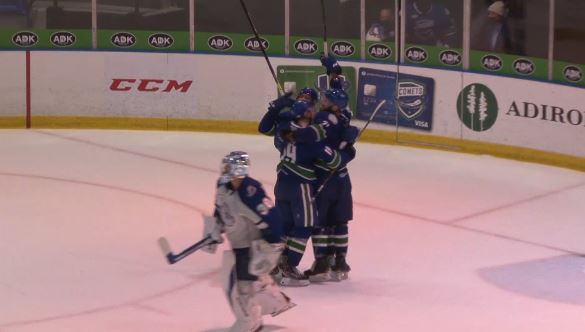 Image for Comets bounce back with thrilling overtime victory against Crunch