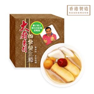 大廚系列 - 椰子栗子鮮百合紅棗老鴨湯 400ml