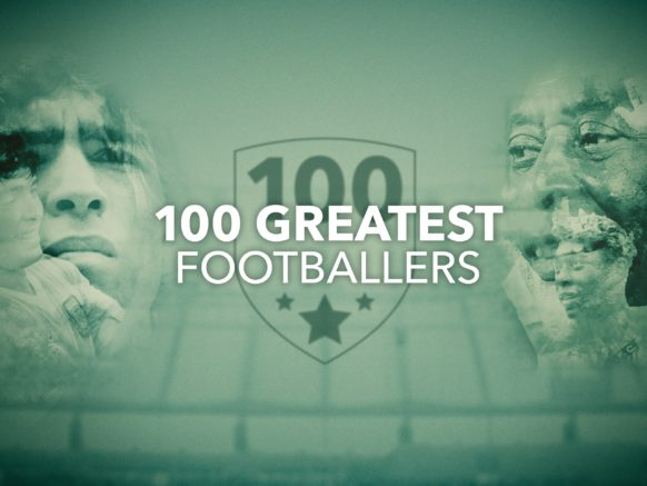 100 Greatest Footballers logo