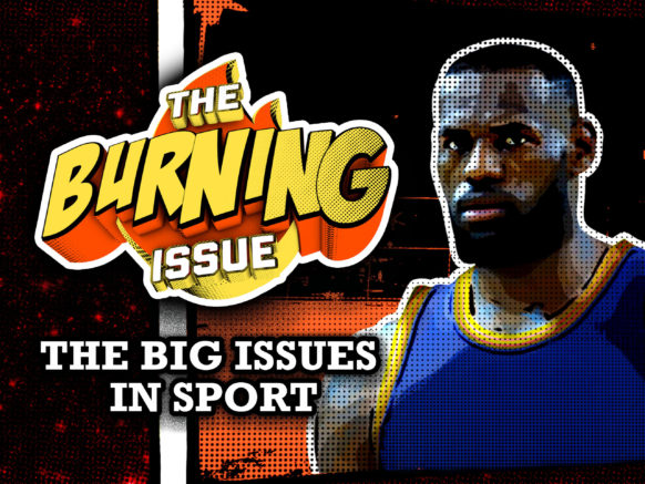 The Burning Issue logo
