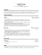 Sample Resume Generated With BingoCV