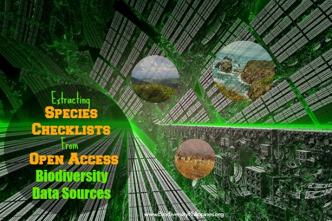 species checklist download, gbif, use open access, biodiversity data download