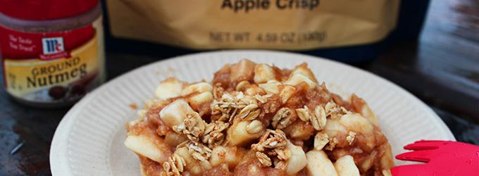 Boil for Apple Dessert