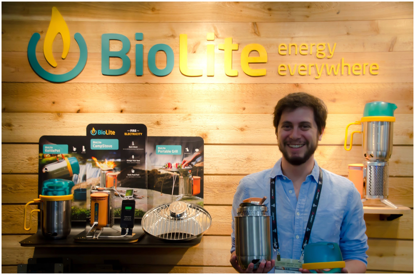 BioLite among companies at Summer OR 2014 tackling global issues