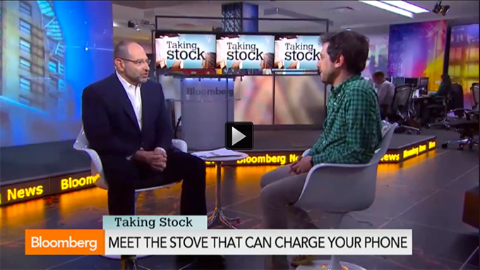 BioLite BaseCamp on Bloomberg TV