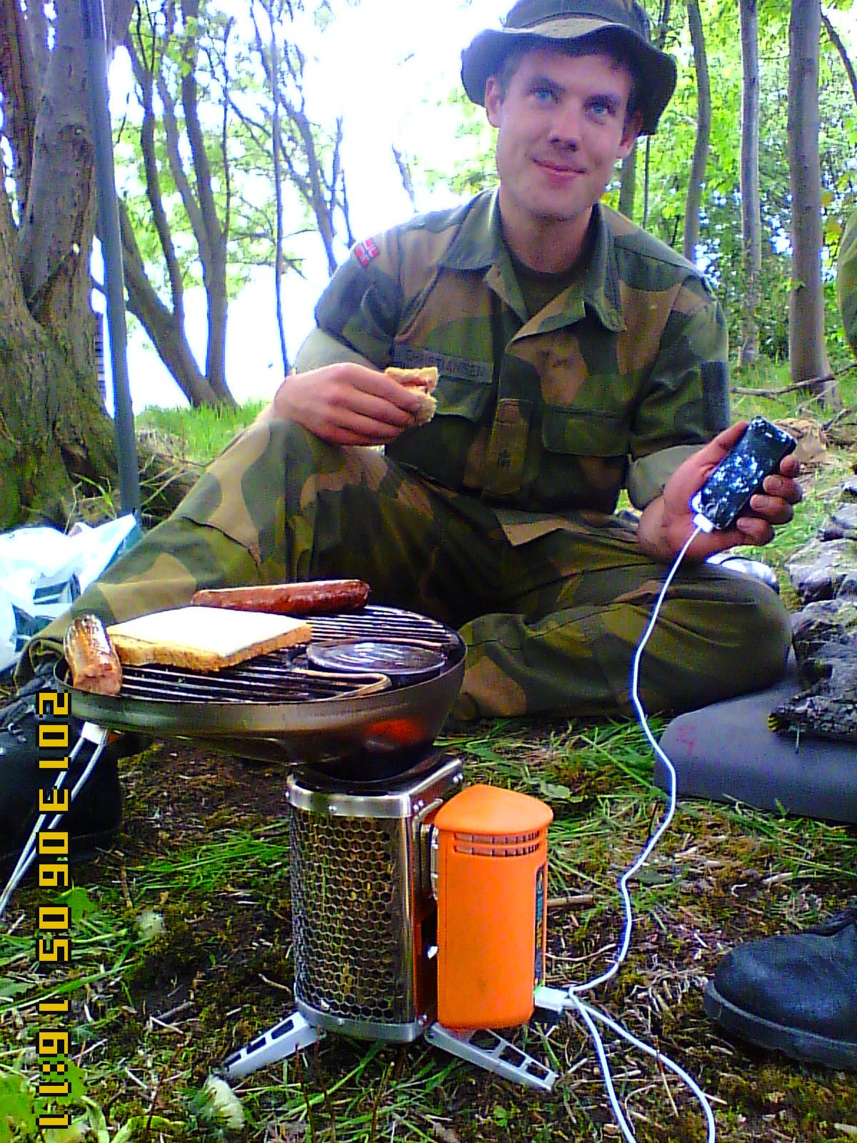 Norwegian Homeguard with BioLite