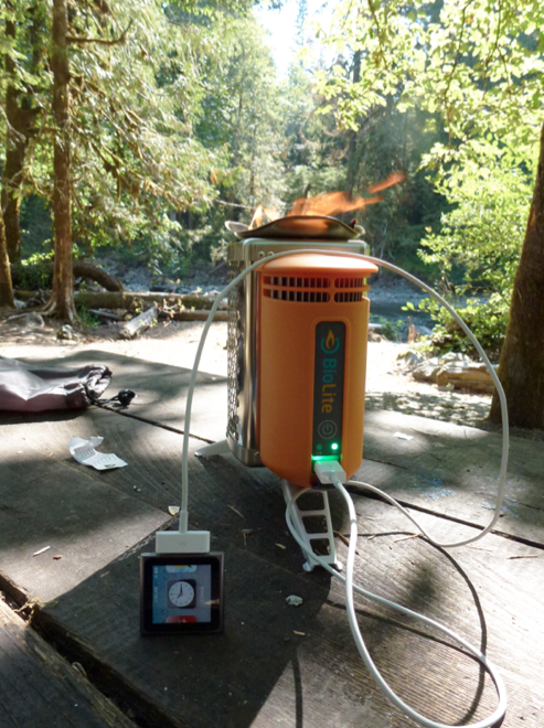 BioLite CampStove at Olympic National Park