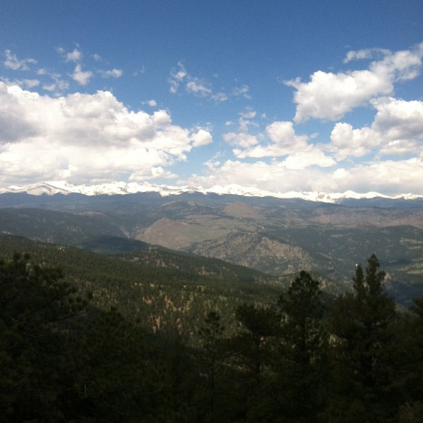 A view from Green Mountain