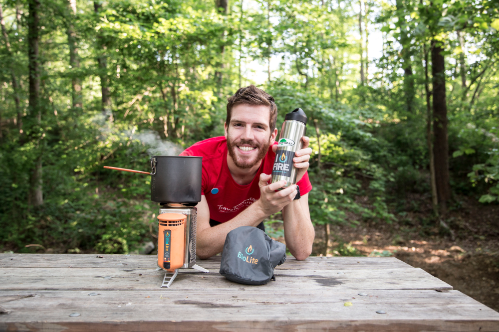 FireStarter Chad and his BioLite CampStove