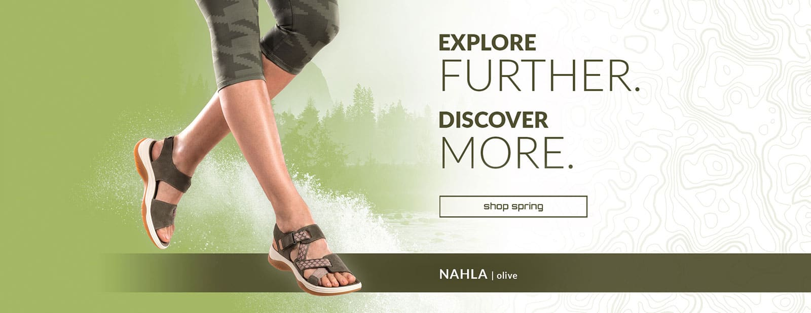 0698eb529ce0 Explore Further. Discover more. Shop spring. Nahla Sandal in olive.