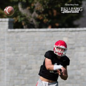Jake Fromm - UGA football practice - Monday, Sept. 4, 2017