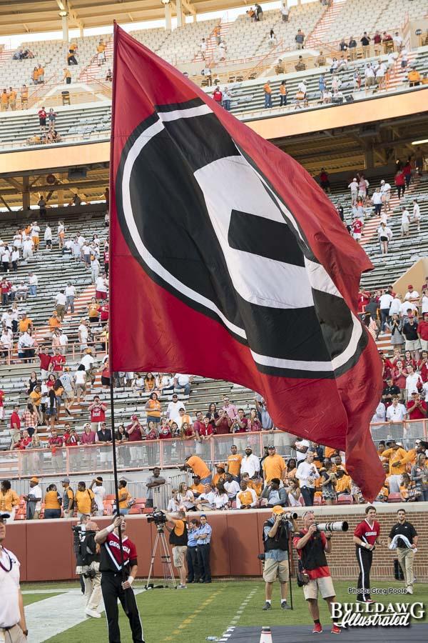 4th quarter - UGA vs. Tennessee - Neyland Stadium, Knoxville, GA - Saturday, Sept. 30, 2017