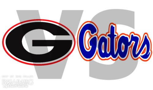Georgia vs Gators 2017 edit by Bob Miller