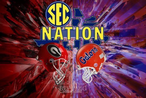 SEC Nation Georgia-Florida 2017 edit by Bob Miller