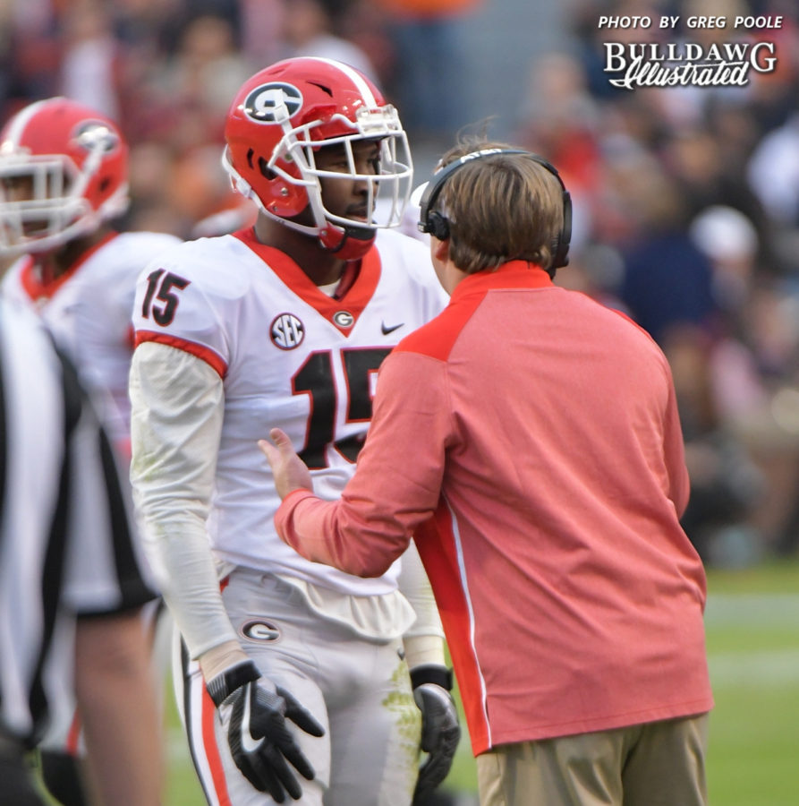 Kirby-smart-showing-dandre-walker-15-some-tough-coaching-love-893x900