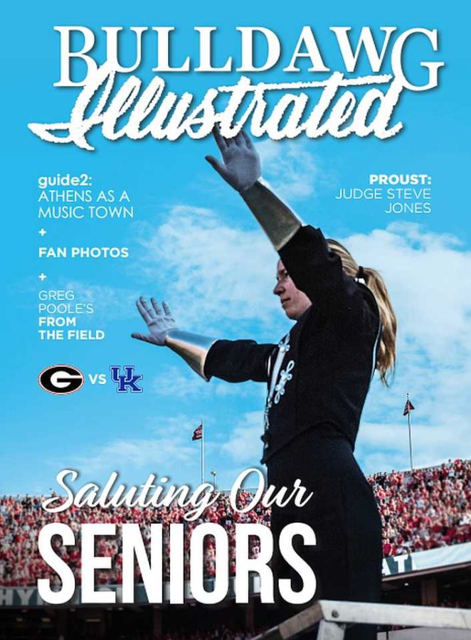 Bulldawg Illustrated cover for 2017, Vol 15, Issue 13 Saluting Our Seniors