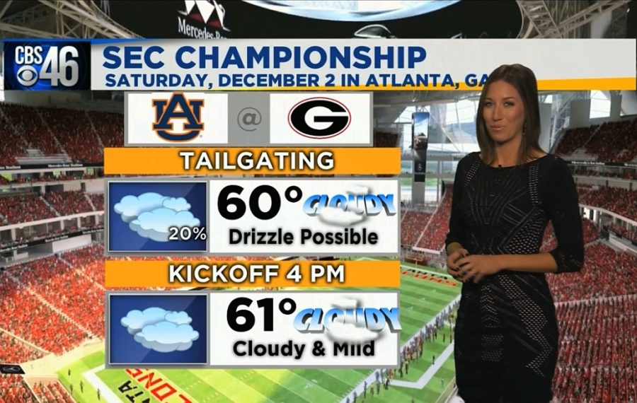 Ella's Bulldawg Forecast for the SEC Championship