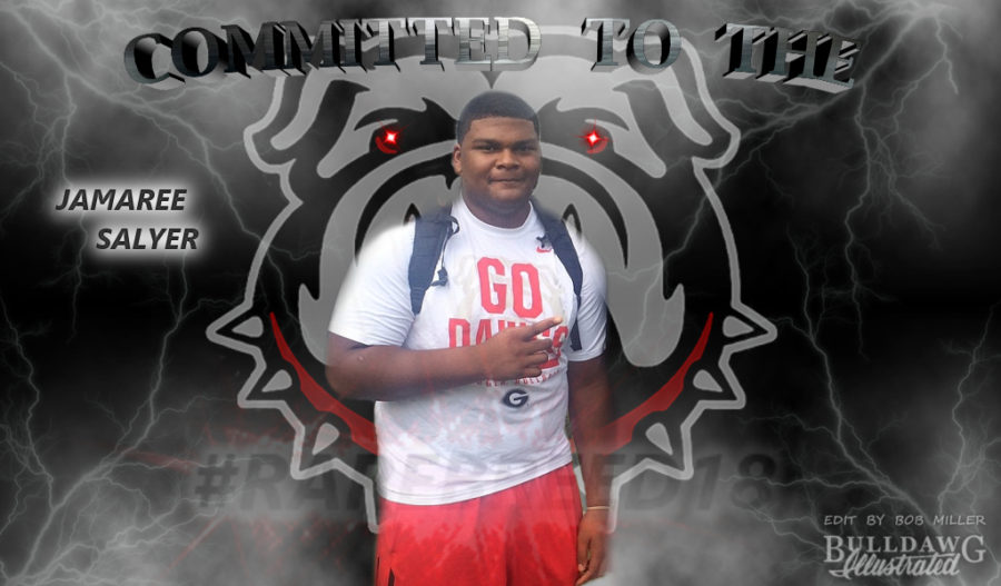 Jamaree Salyer - Committed to the G, RareBreed18 edit by Bob Mille