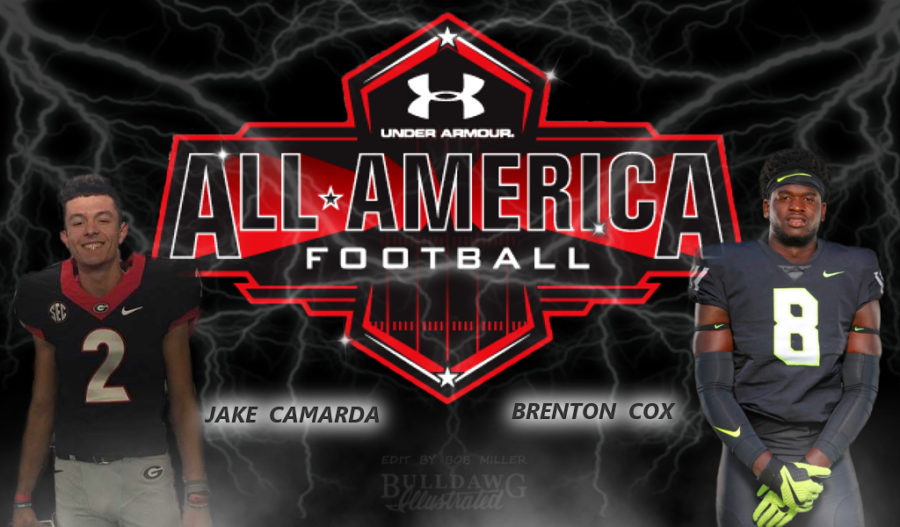 Jake Camarda and Brenton Cox Under Armour All-America Game edit by Bob Miller