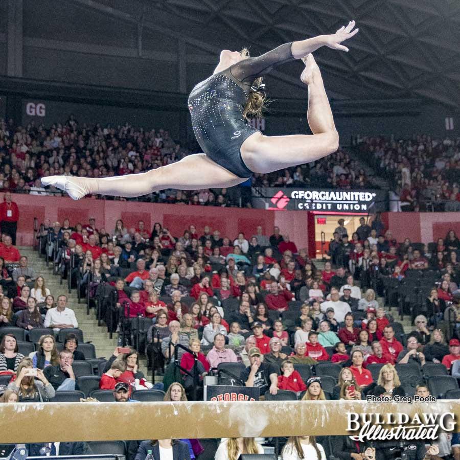 UGA gymnastics – Georgia vs. Oklahoma – January 15, 2018