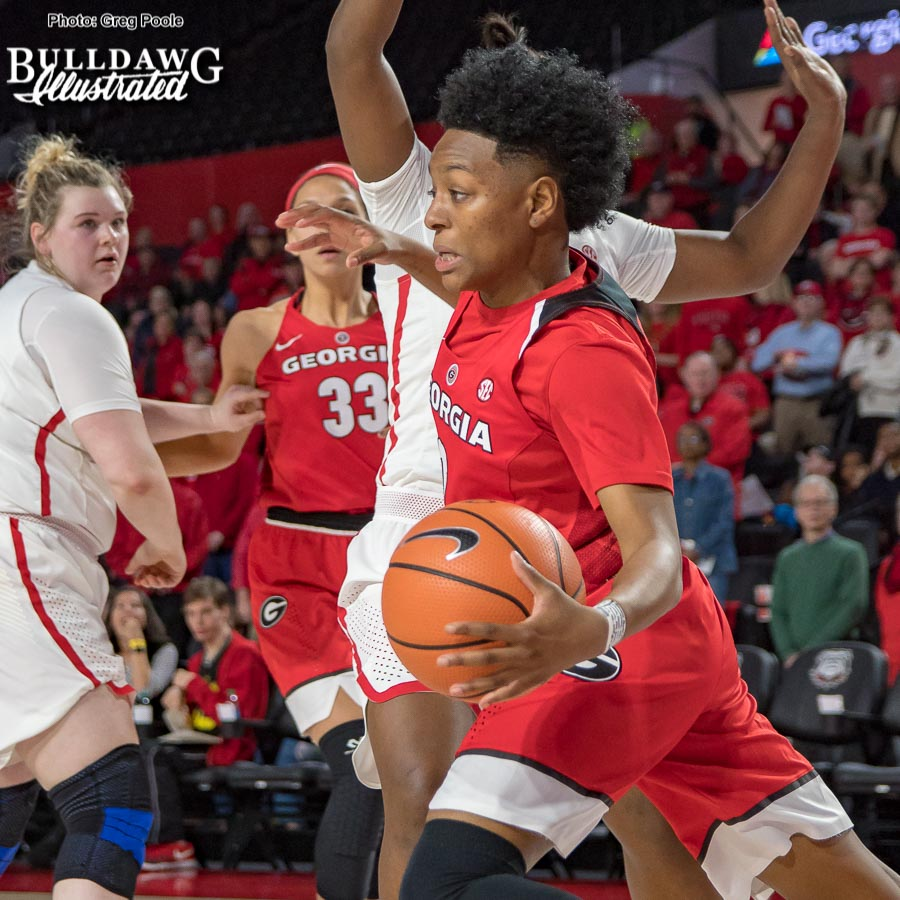 Taja Cole – Georgia vs. Ole Miss – February 4, 2018