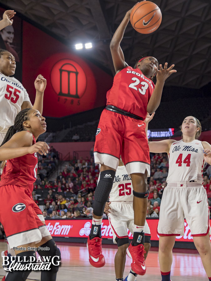 Que Morrison – Georgia vs. Ole Miss – February 4, 2018