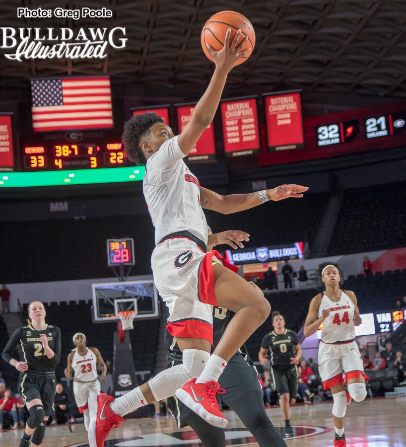 Taja Cole – Georgia vs. Vanderbilt – February 8, 2018