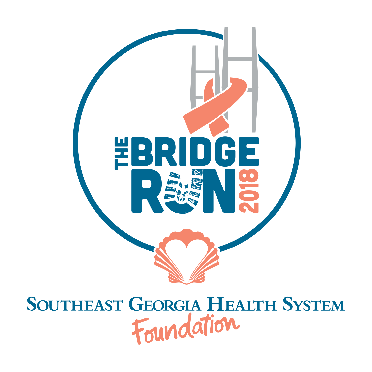 The bridge run 2018 logo