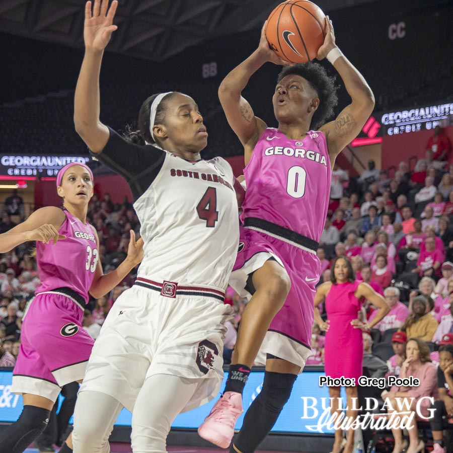 Taja Cole - Georgia vs. South Carolina - February 15, 2018