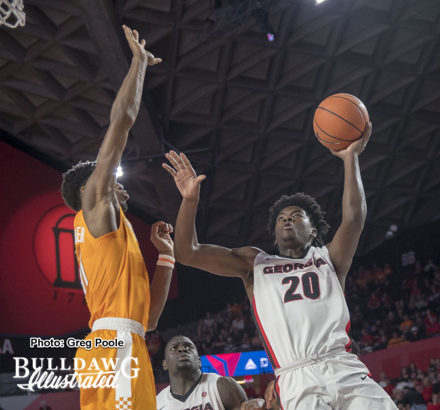 Rayshaun Hammonds – Georgia vs. Tennessee – February 17, 2018