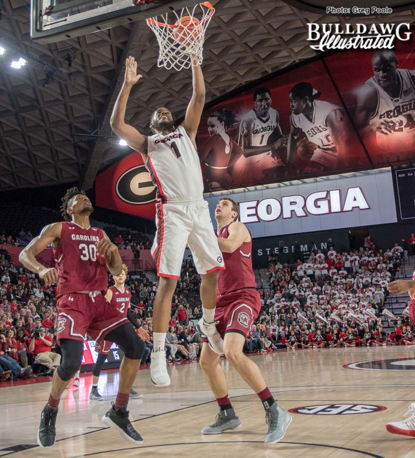 Yante Maten – Georgia vs. South Carolina – January 13, 2018