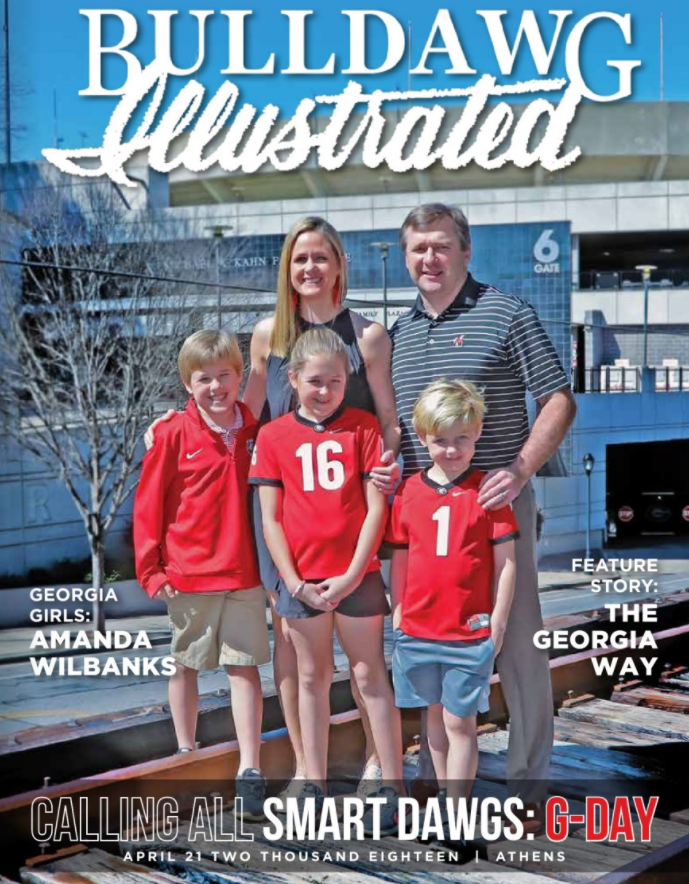 Bulldawg Illustrated print edition cover – issue one 2018