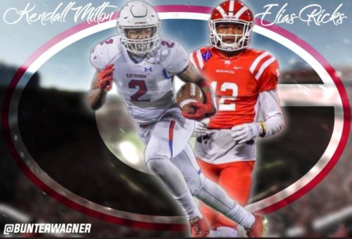 Kendall Milton and Elias Ricks! Edit by @bunterwagner