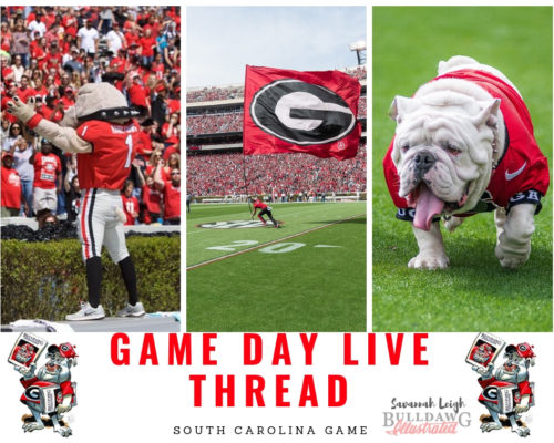 Game Day Live Thread South Carolina Edition Photos By Bulldawg Illustrated