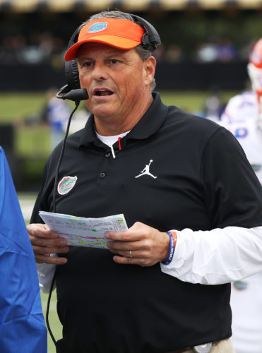 Todd Grantham (Photo by Florida Athletics)