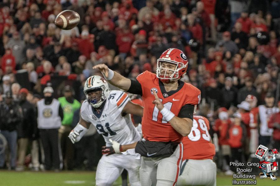 Jake Fromm (11) - Georgia vs. Auburn 2018