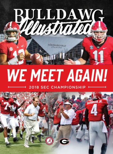 SEC Championship Game Print Issue cover