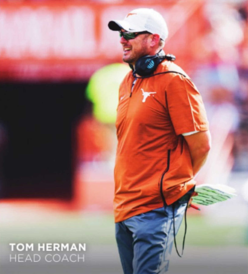 Tom Herman Photo: UT Athletics