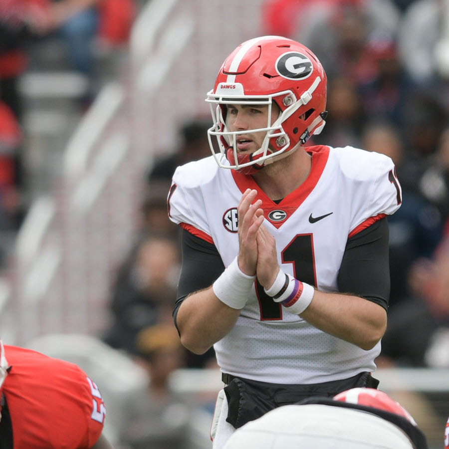 Jake Fromm - G-Day 2019