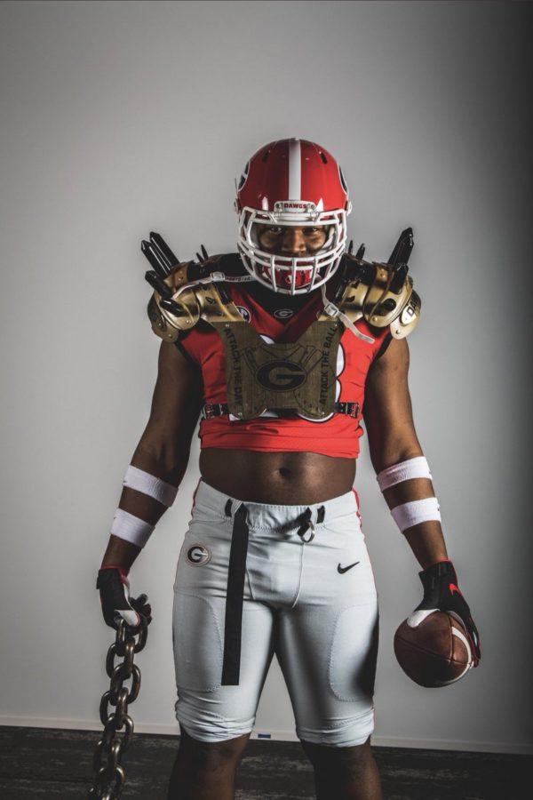 Jalen Carter In Georgia Football Uniform Via Twitter