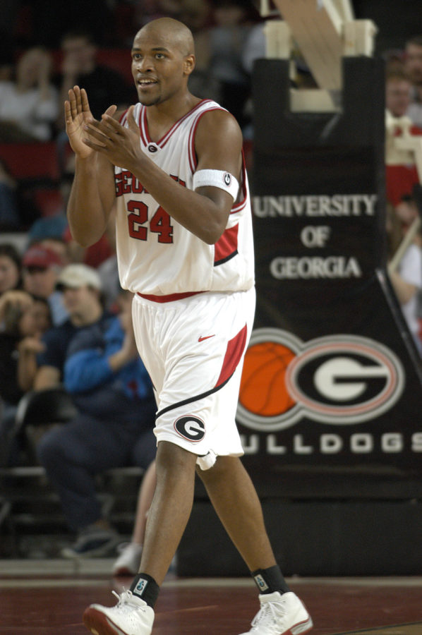Jarvis Hayes   (Photo: Georgia Sports Communications)