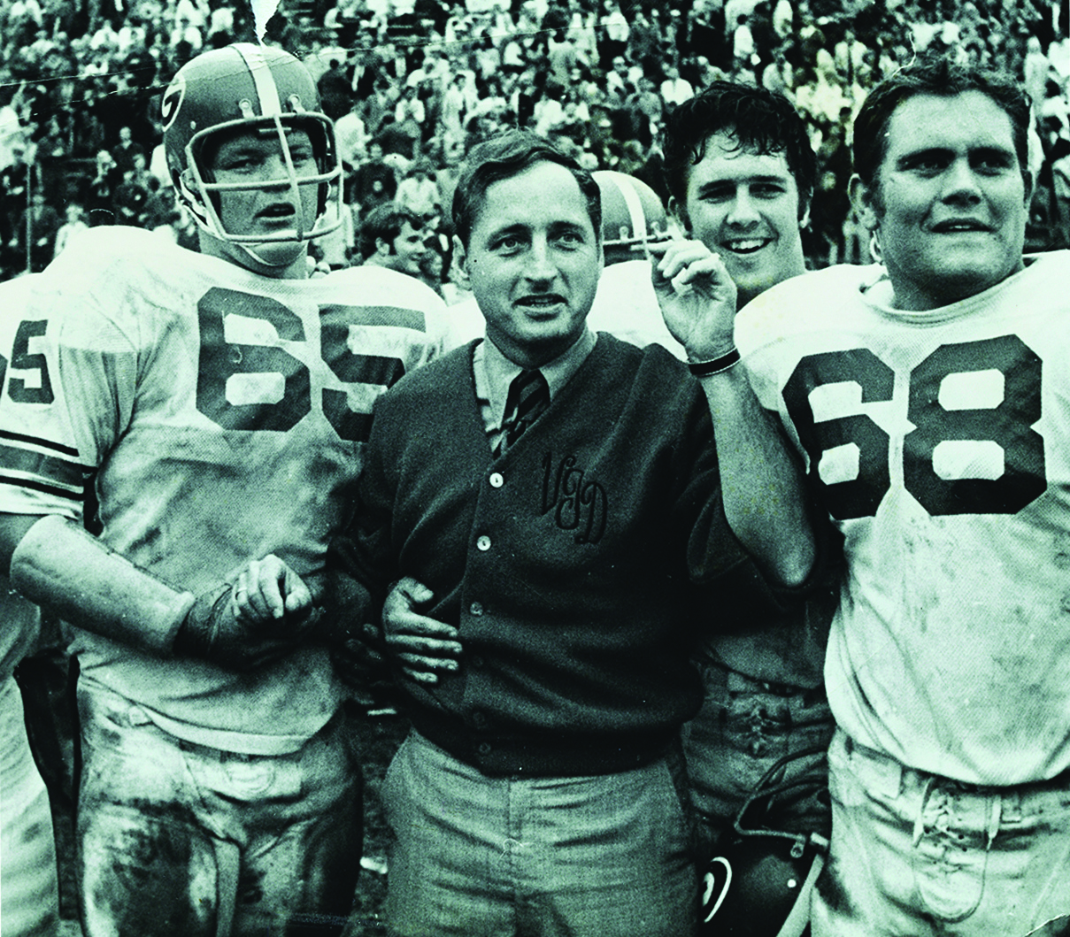Vince Dooley S 25 Years Coaching Timeline Bulldawg Illustrated