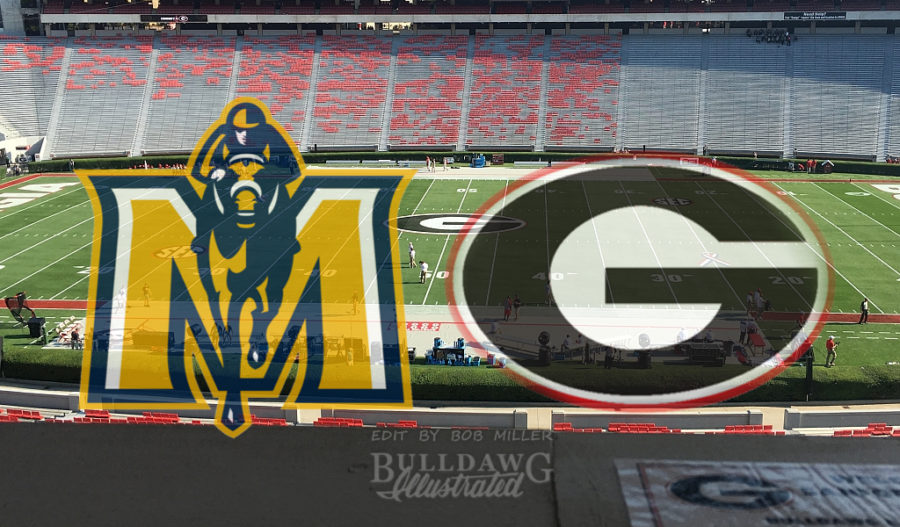 UGA vs. Murray State Sanford Stadium edit by Bob Miller