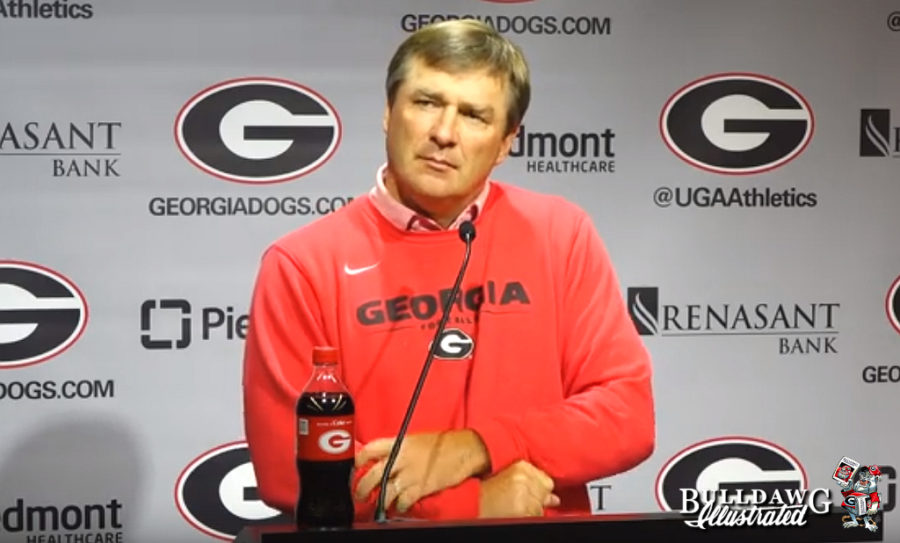 Kirby Smart during Monday, Sept. 9, 2019 press conference