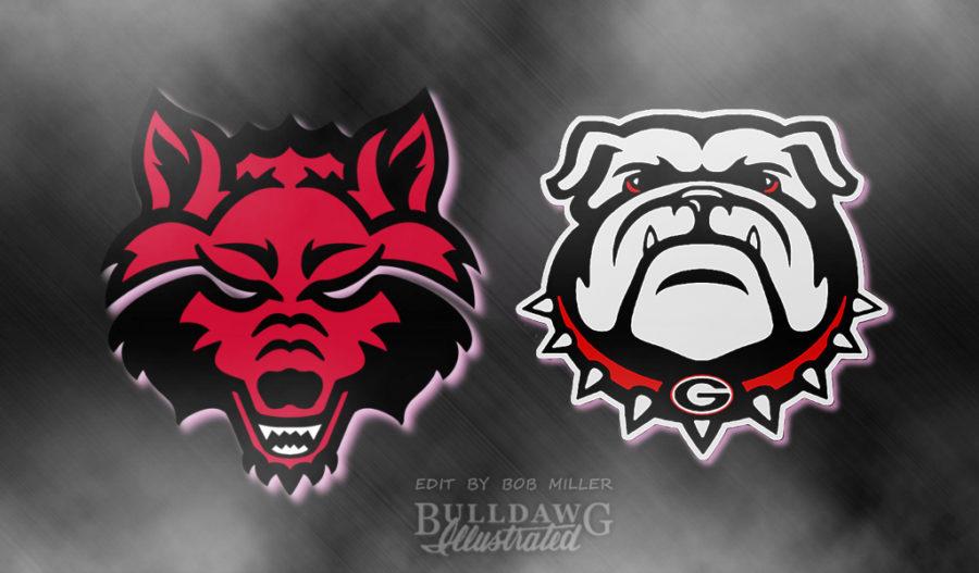 Bulldogs vs. Red Wolves edit by Bob Miller