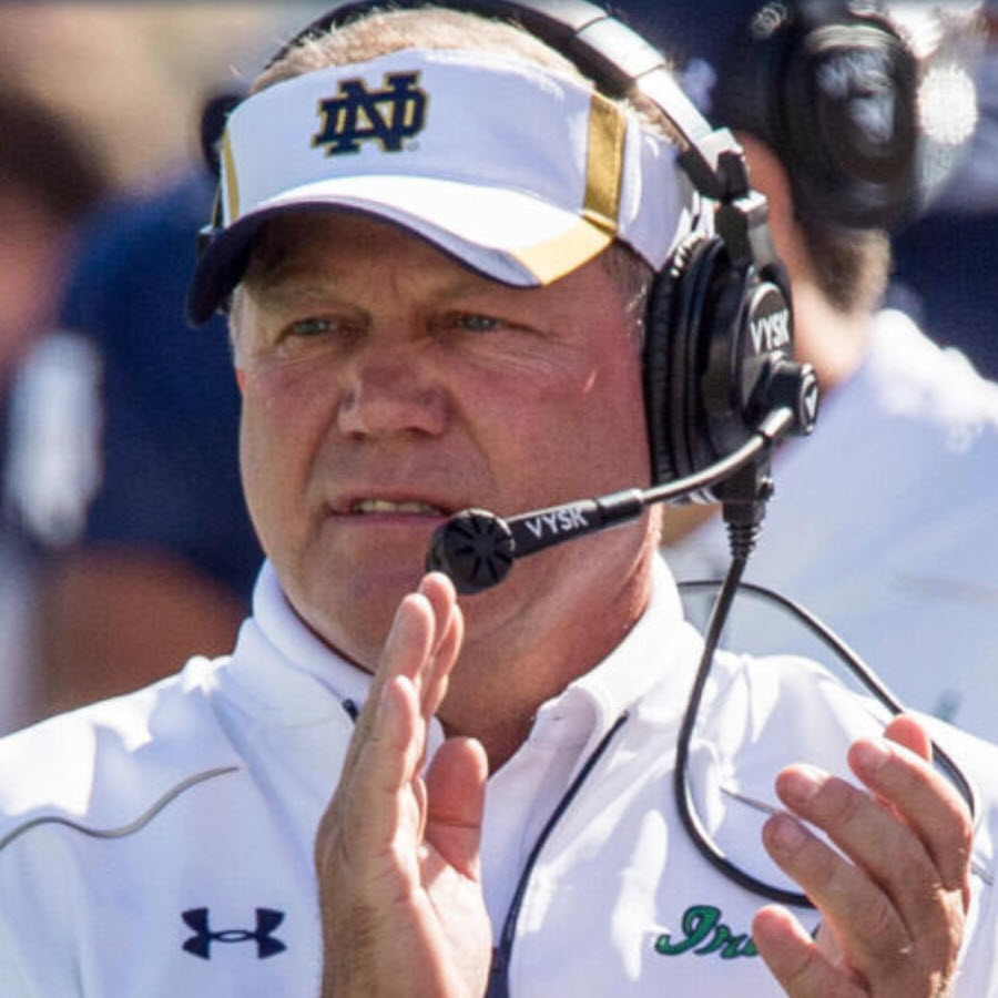 Brian Kelly Photo: Notre Dame Athletics