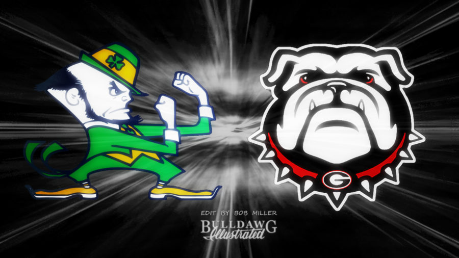 Dawgs vs. Irish edit by Bob Miller