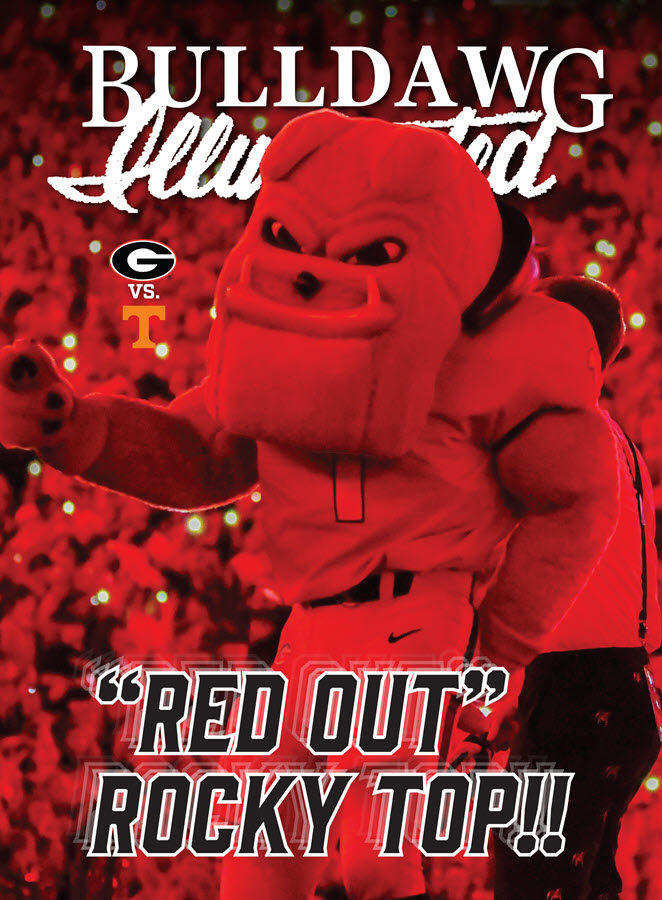 Georgia vs. Tennessee 2019 - Print issue cover