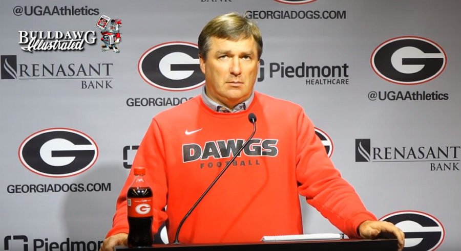 Kirby Smart during Monday, September 30, 2019 press conference